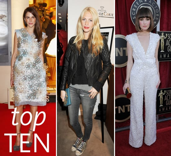 Pictures of the Top Ten Best Dressed Celebrities This Week Rachael Taylor, Cate Blanchett, Michelle Obama, Rose Byrne  & More!