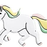 Puffy Unicorn Sticker