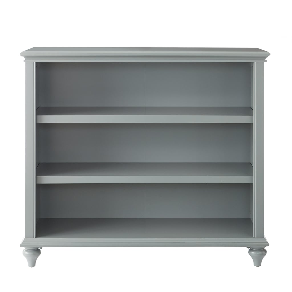 Home Decorators Collection Distressed Gray Wood 3-shelf Accent Bookcase with