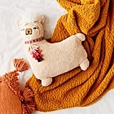 Fuzzy Alpaca Throw Pillow