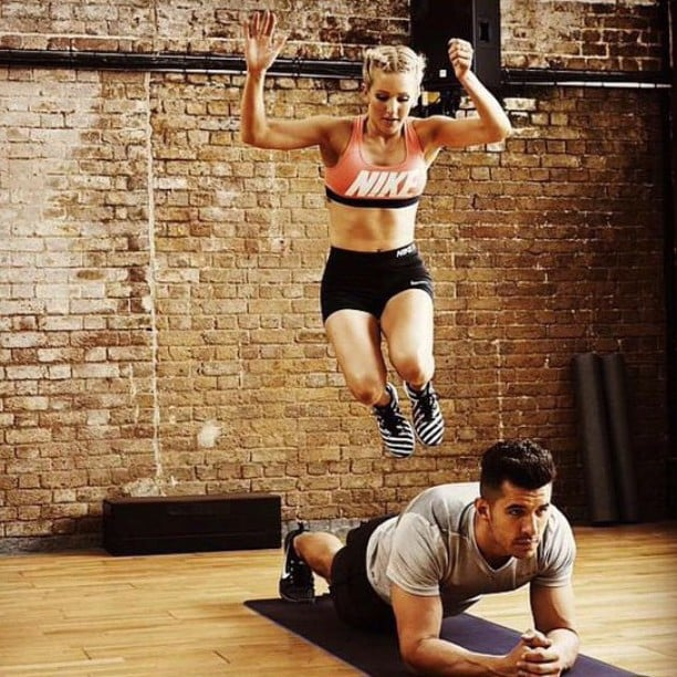 Doesn't Ellie Goulding's workout look fun?