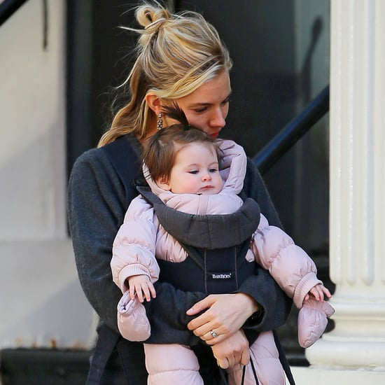 Sienna Miller Holding Baby Marlowe in NYC | Pictures
