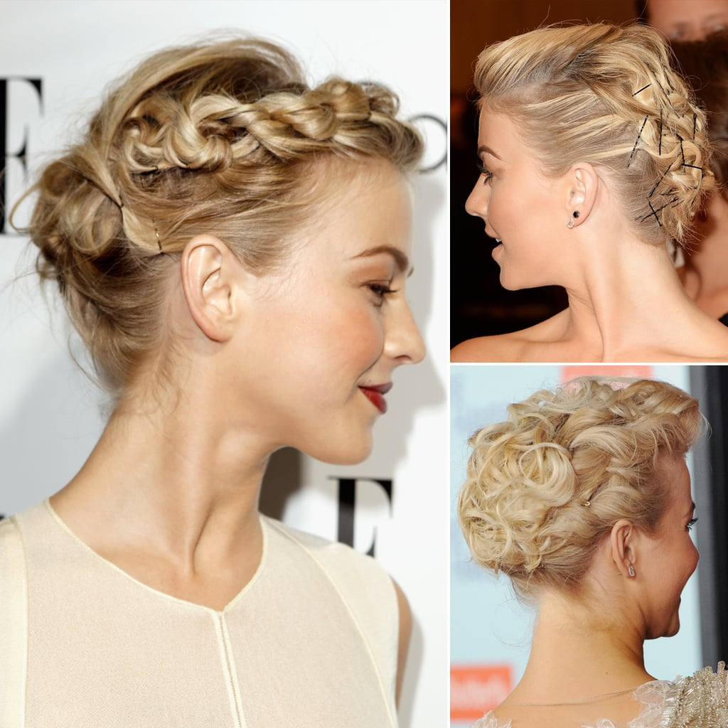Julianne Houghs Best Hairstyles And Updos Popsugar Beauty Uk