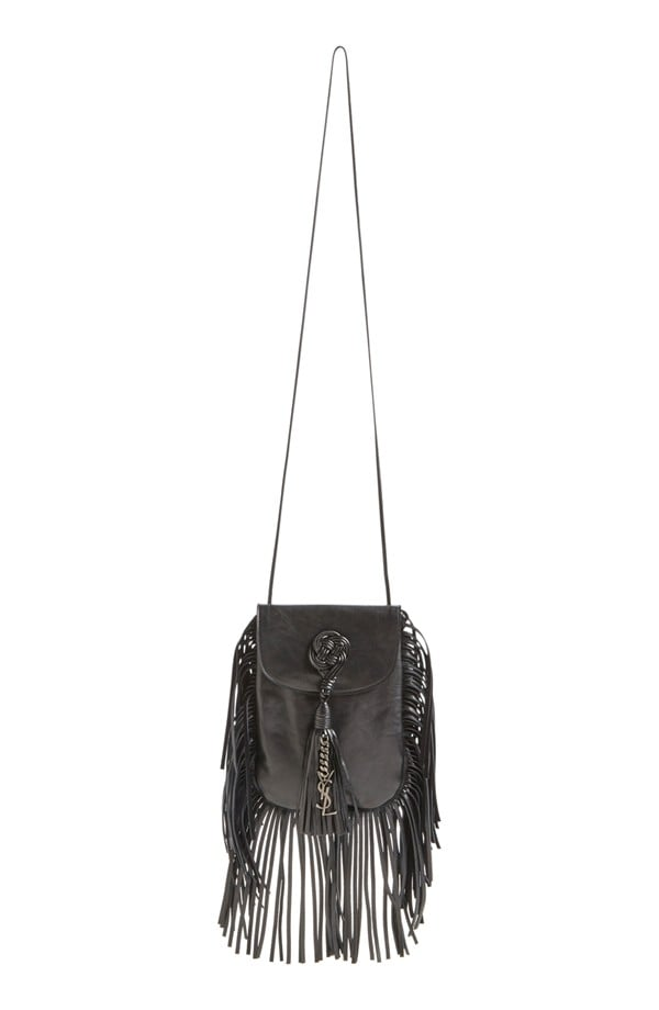 Saint Laurent 'Anita' Passementerie Calfskin Crossbody Bag ($1,490)
