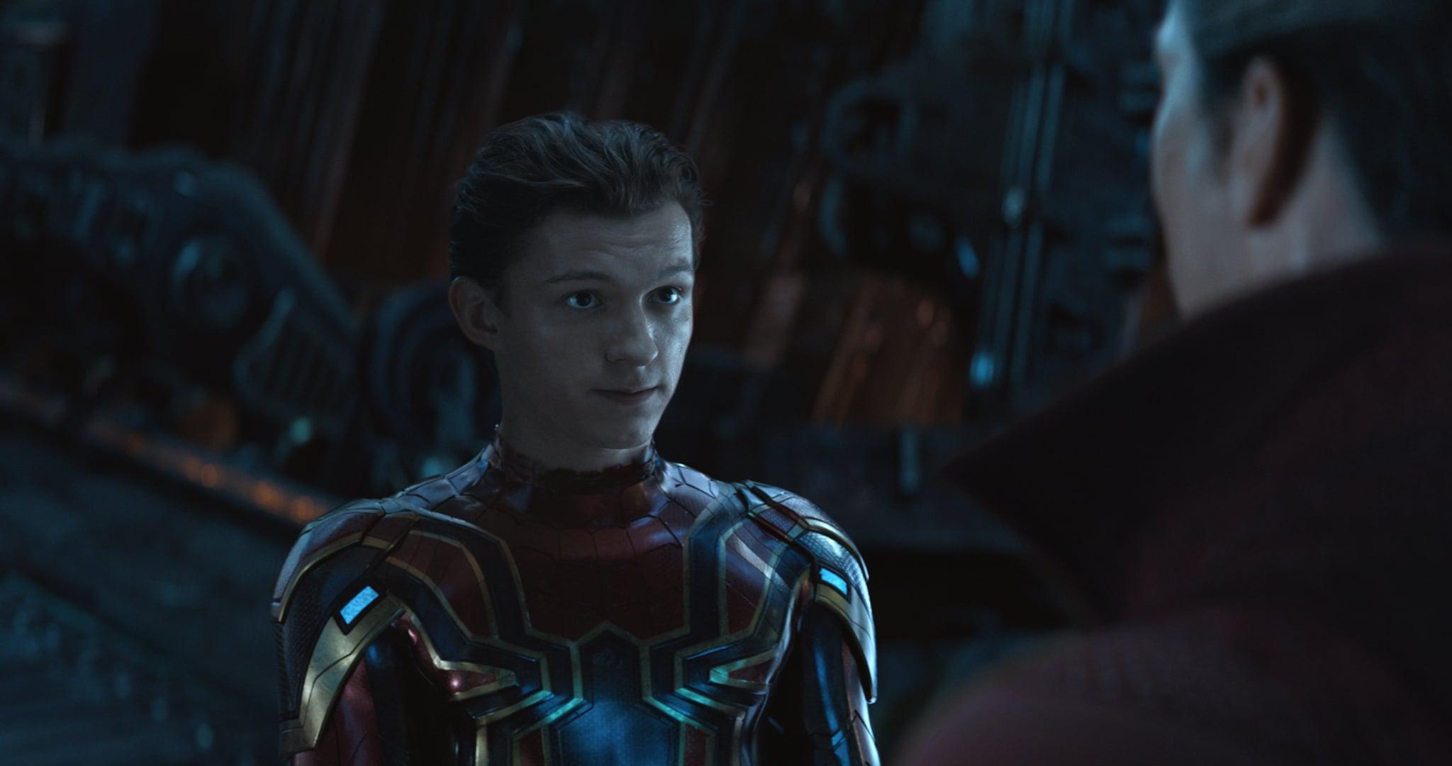 "Peter Parker/Spider-Man (Tom Holland) in ""Avengers: Infinity War"" (2018)"