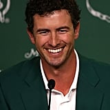Adam Scott A certain Adam Scott won the Masters this year and, in the process, won over a slew of women who normally wouldn't be caught dead watching a golf game. Why the interest? Well, the 33-year-old Australian golfer is beefy, he's got a megawatt smile and curly locks, he's single — and that's all just the beginning. What's not to love?