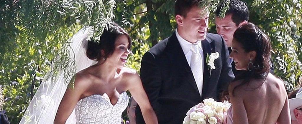 Jenna Dewan's Wedding Dress