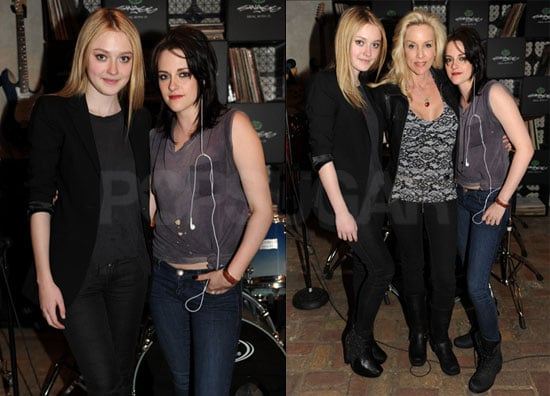 Photos of Kristen Stewart, Dakota Fanning And Cherie Currie at The Afterparty For The SXSW Premiere of The Runaways