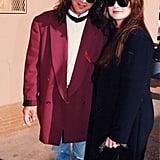 Eddie Van Halen and Valerie Bertinelli, 1992
