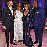 Trevor Noah, Gayle King, Tiffany Haddish, and Roy Wood Jr.