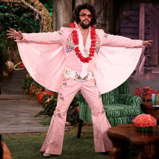 Jason Momoa's Elvis Halloween Costume on The Ellen Show