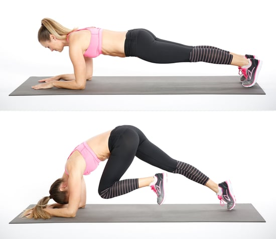 Challenging Plank Variation