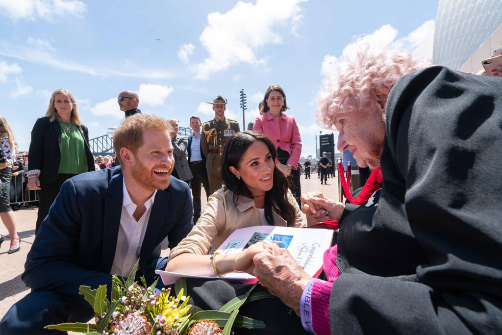 Harry And Meghan Markles Birthday Card To Daphne Dunne 2019