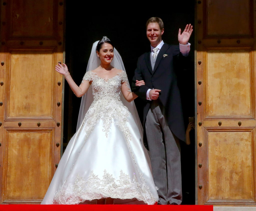 Crown Princess Elia of Albania's Wedding Dress