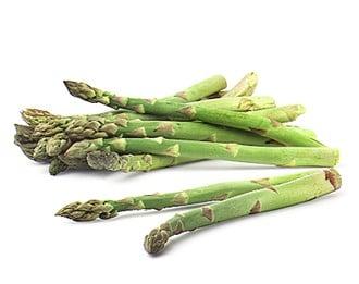 Asparagus and Bok-Choy Frittata