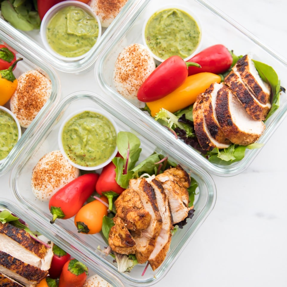 Low Carb Chicken Meal Prep Ideas Popsugar Fitness