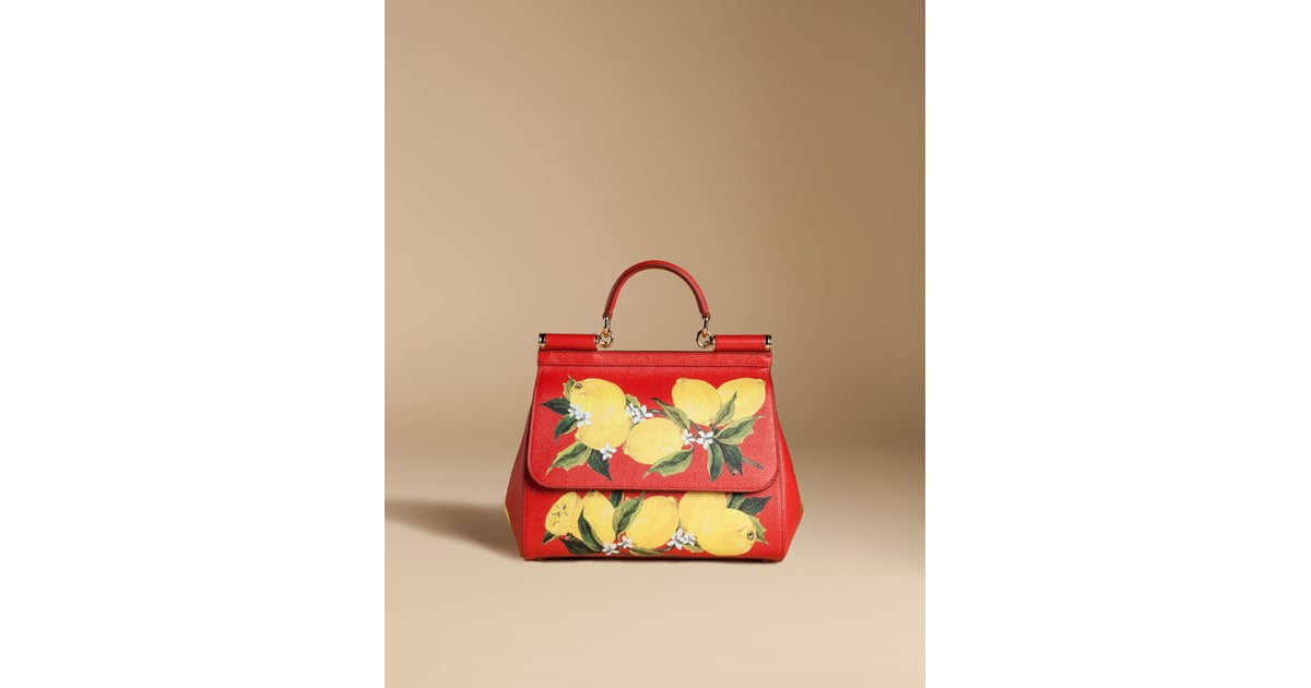 9df16624a0 Dolce   Gabbana Medium Sicily Bag in Printed Dauphine Leather ...