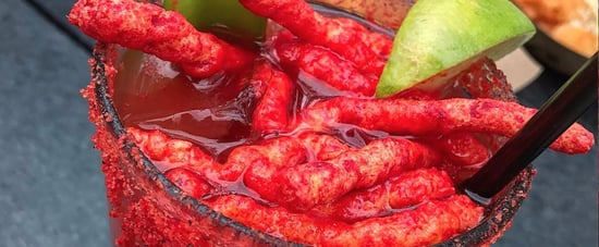 "This Hot Cheetos-Topped Bloody Mary Is Basically Like, ""F*ck Celery"""