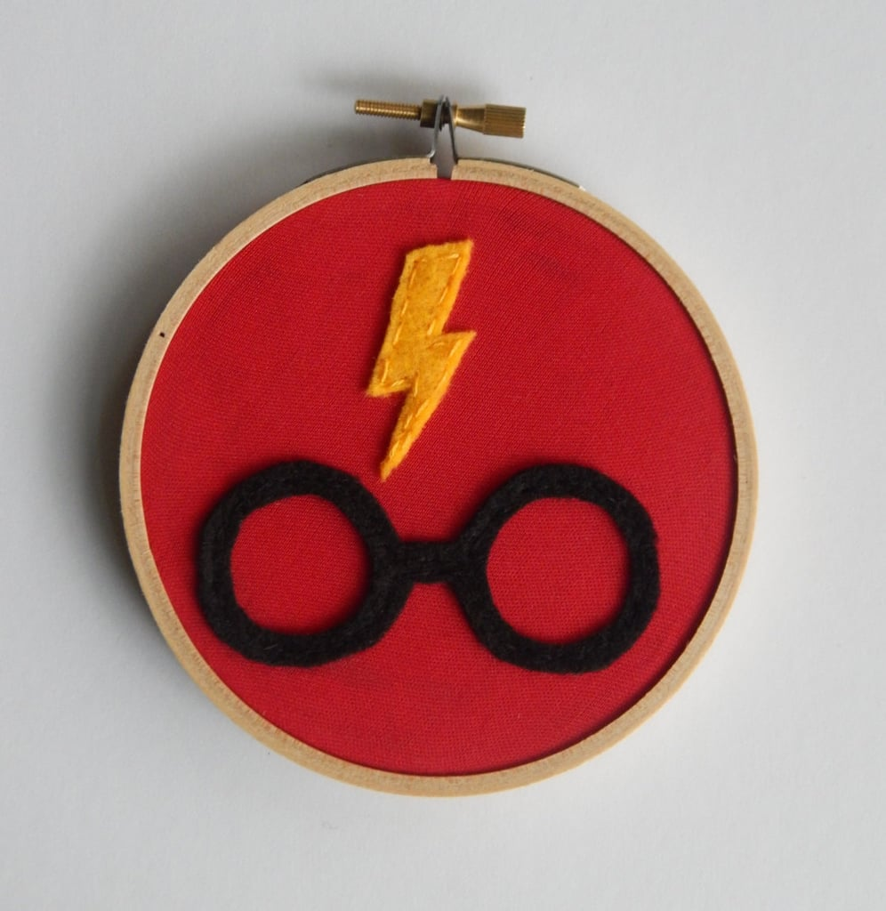 Harry Potter Embroidery Hoop ($12)
