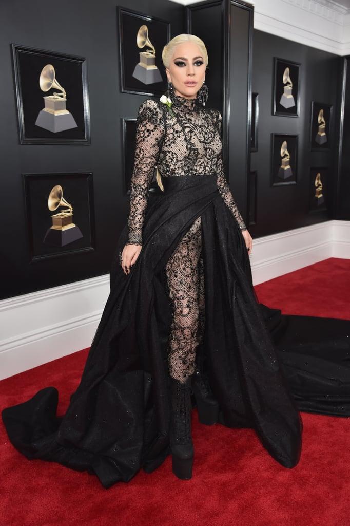Lady Gaga in Armani Privé at the Grammy Awards