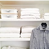 Keep Closet Stacks Tidy With Acrylic Shelf Dividers