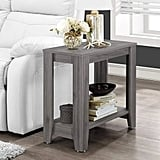 Monarch Specialties Contemporary Design Accent Rectangular-Side End Table