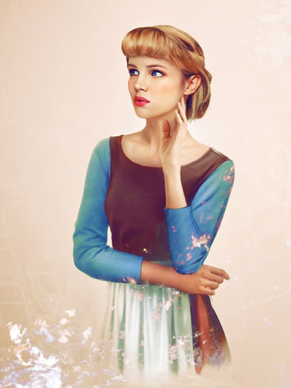 Real Life Disney Princess Art Popsugar Love Sex