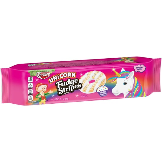 Keebler Cupcake-Flavored Unicorn Fudge Stripes Cookies 2019