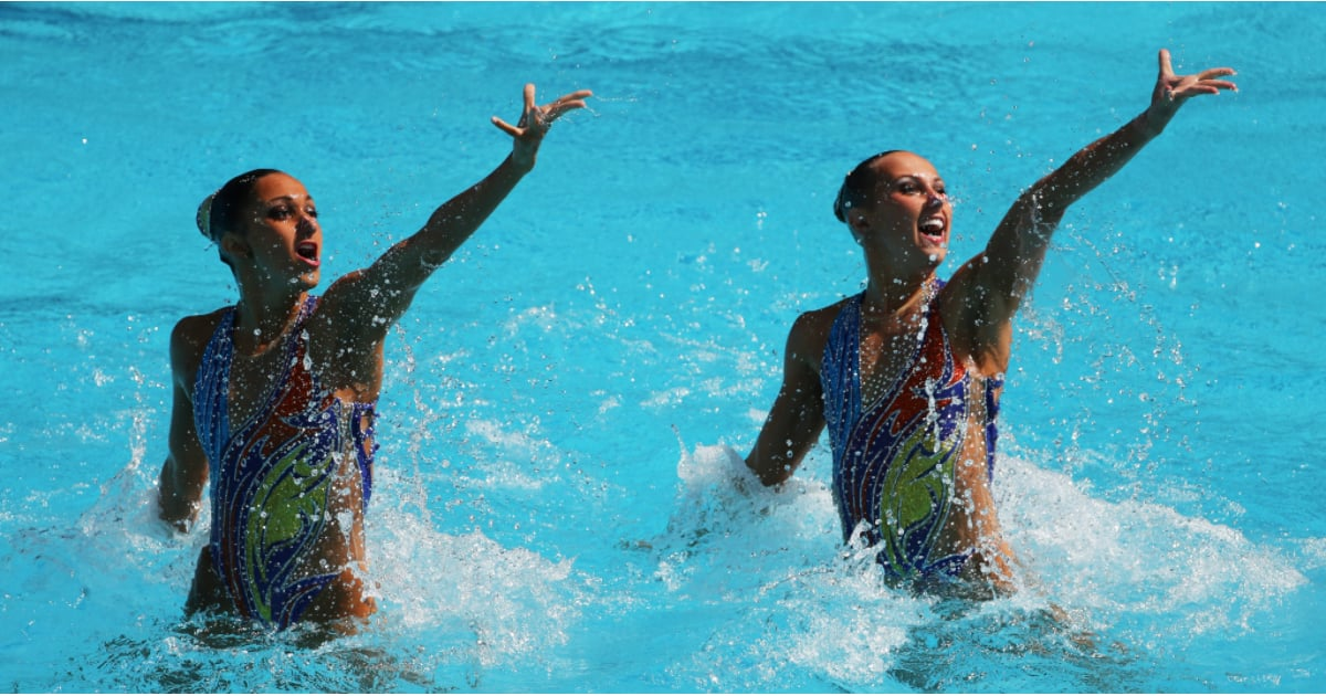 Olympic Synchronized Swimmers Hair Tips Popsugar Beauty