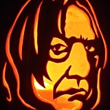 Professor Snape From Harry Potter Pumpkin