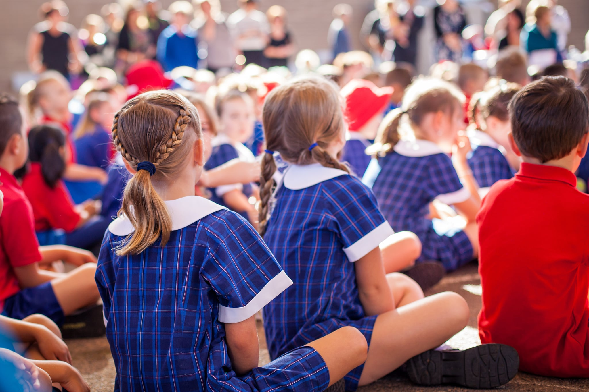 Elementary School Bans Clapping in Favor of Silent Cheering at Assemblies
