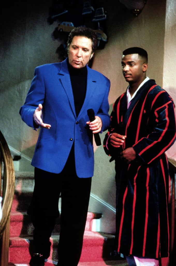 He always had a sophisticated bathrobe on deck.