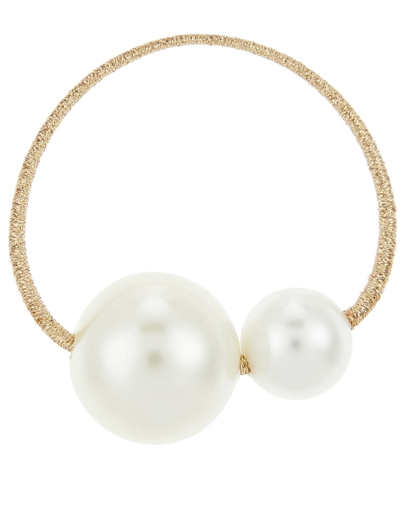 Hair Ties: Accessorize Double Pearl Hair Tie