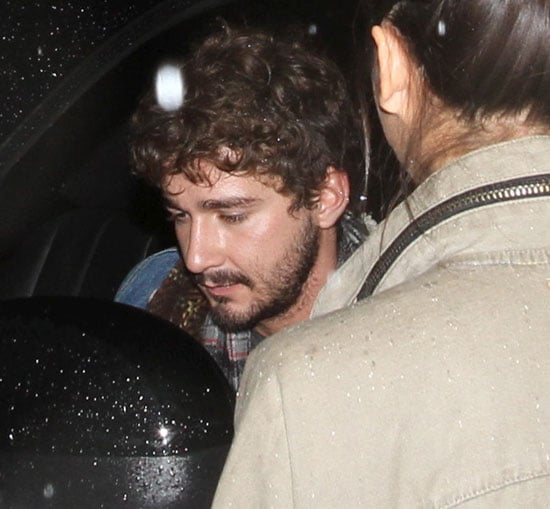 Pictures of Shia LaBeouf Leaving the Red Lion Bar in LA