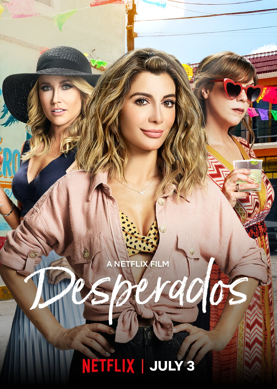Watch The Trailer For The Netflix Movie Desperados Popsugar Australia Entertainment