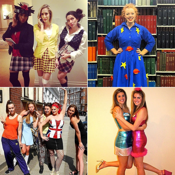 90s girl halloween costumes popsugar love sex - 4 Girls Halloween Costumes