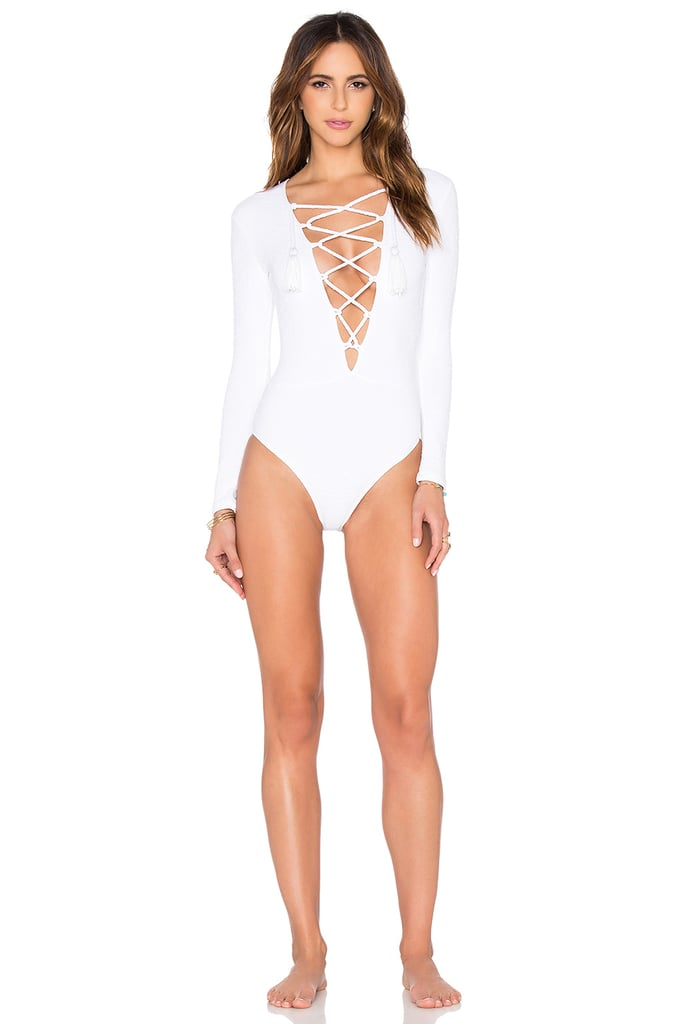 Beach Riot x Stone Cold Fox Poppy One Piece ($180)