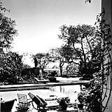 George Cukor's Backyard Pool in 1946