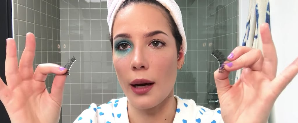 Halsey's Shimmery Manic Makeup Tutorial For Vogue —Video