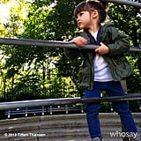 Harper Smith enjoyed the cooler weather playing in NYC's Central Park. Source: Instagram user tathiessen