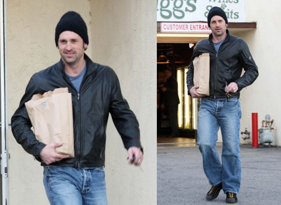 Golden Globe Nominee For Grey's Anatomy Patrick Dempsey Out in LA on Sunday