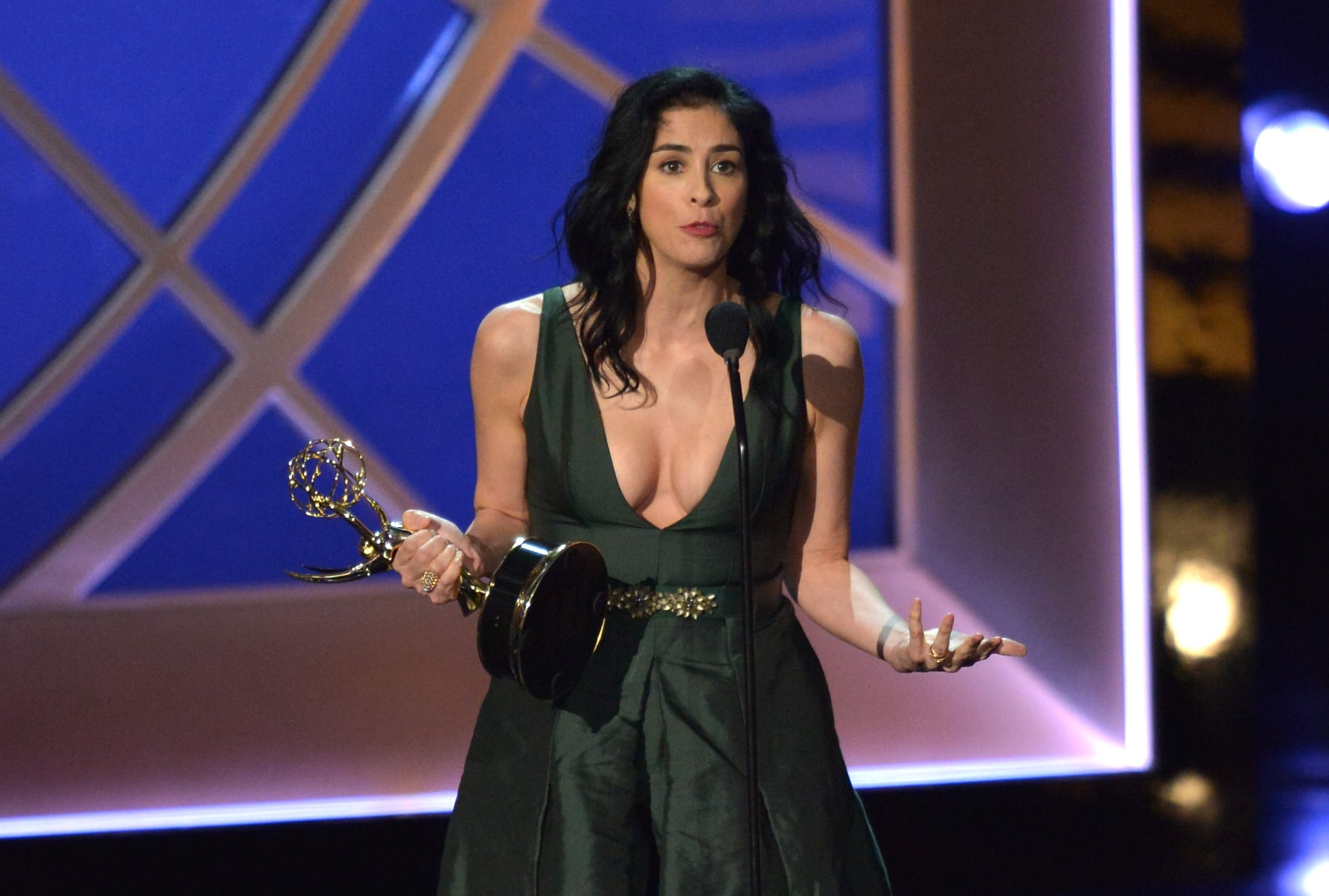 Sarah Silverman's Sprint to the Stage