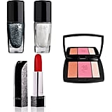 Shimmer takes center stage in Lancome's Holiday Collection. Gorgeous red lipstick, sparkling polishes, and a pretty palette are all fabulous additions to your makeup collection.