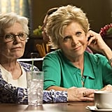 Patty Duke and Meredith Baxter guest-star on the episode.