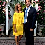 A Sunny Yellow Dress Is Perfect For a Spring Wedding