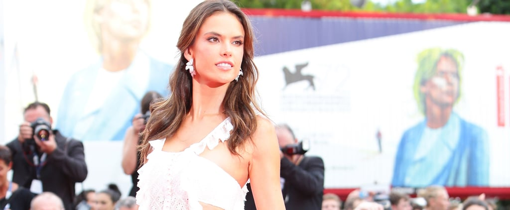 Alessandra Ambrosio's White Dress at Venice Film Festival