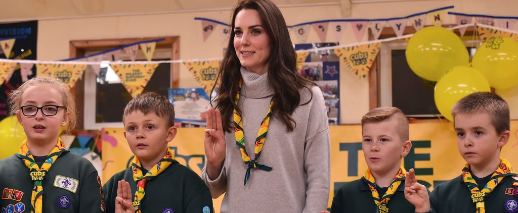 Kate Middleton Deserves a Merit Badge For How Cute She Is With Kids at This Cub Scouts Event