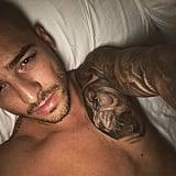 When He Took This Bedtime Selfie