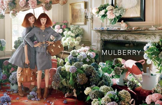 Mulberry's Secret Garden Spring '11 Ad Campaign Starring Lindsey Wixson
