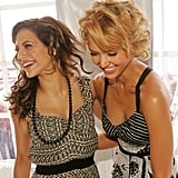 Jessica Alba shared a laugh with the late Brittany Murphy at a luncheon during the festival in 2005.